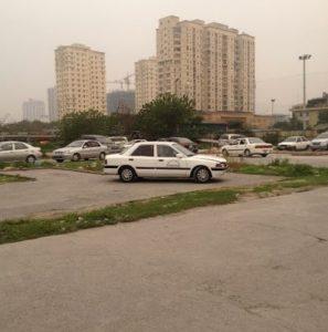 ảnh sân tập lái xe Nam Trung Yên quận Cầu Giấy