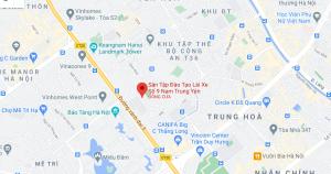 sân tập lái xe Nam Trung Yên quận Cầu Giấy