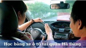 Học lái xe ô tô tại quận Hà Đông Hà Nội