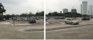 Hình ảnh thực tế sân tập lái xe số 9 quận Tây Hồ