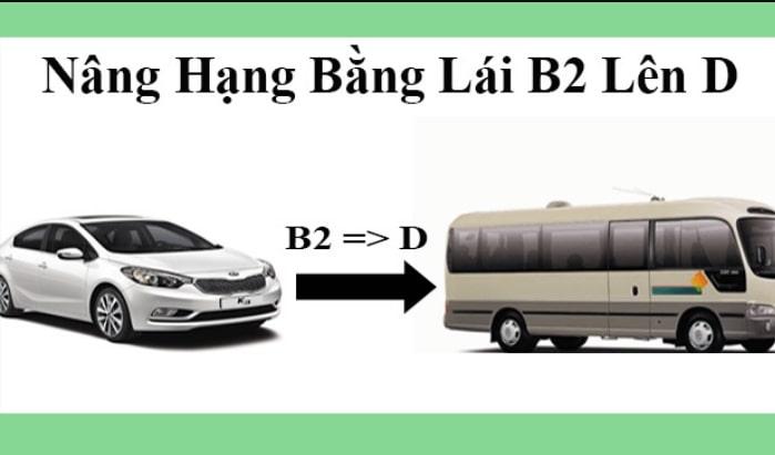 Nâng Hạng Bằng Lái Xe Ô tô B2 Lên D Cần Gì - Nên Nâng Hạng C Không