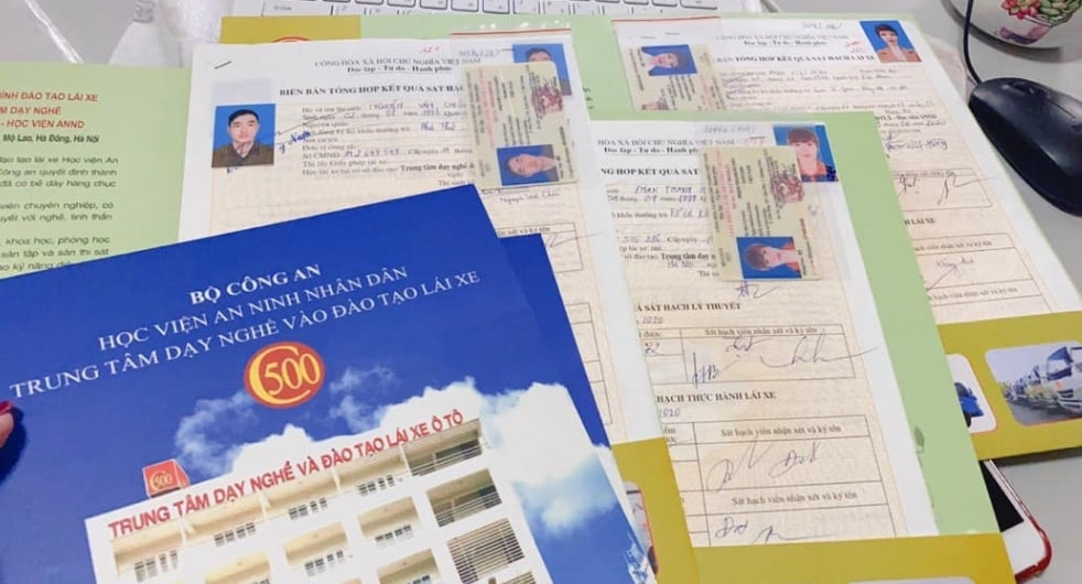 Giới Thiệu Văn Phòng Đào Tạo Bằng Lái Xe Ô Tô Học Viện An Ninh C500
