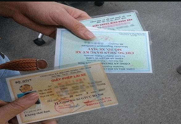Các lỗi vi phạm bị tước bằng lái xe từ 30 ngày đến 2 năm