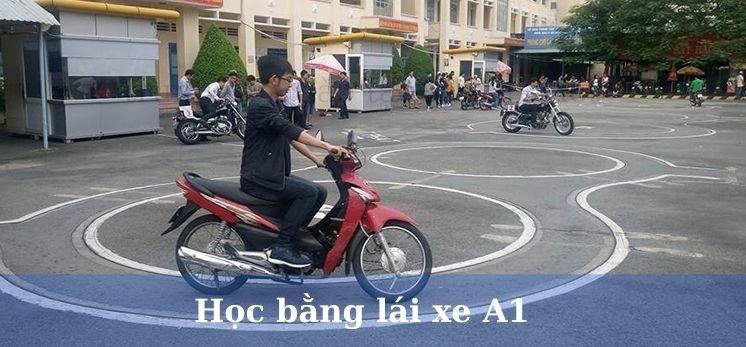 Học bằng lái xe máy A1 trọn gói tại Hà Nội