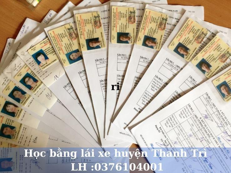 Học lái xe ô tô B1 B2 C và nâng hạng tại huyện Thanh Trì Hà Nội