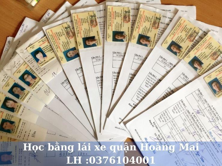 Học lái xe ô tô B1 B2 C và nâng hạng tại quận Hoàng Mai Hà Nội