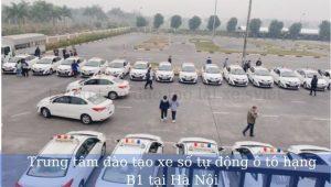 Trung tâm đào tạo xe số tự động ô tô hạng B1 tại Hà Nội