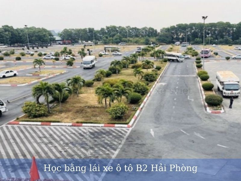 Học bằng lái xe ô tô B2 Hải Phòng