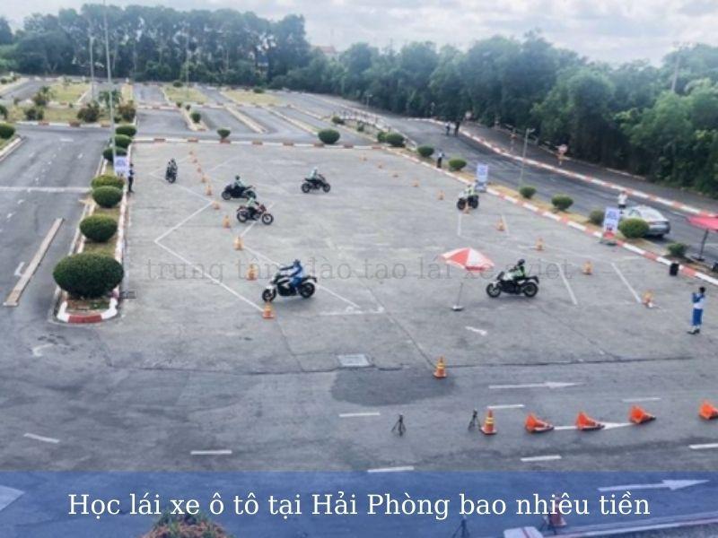 Học lái xe ô tô tại Hải Phòng bao nhiêu tiền