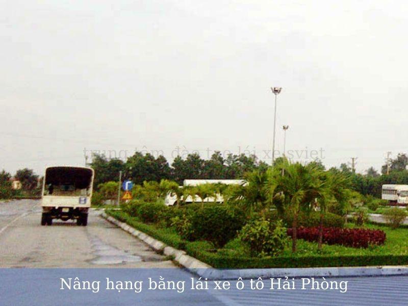 Nâng hạng bằng lái xe ô tô Hải Phòng
