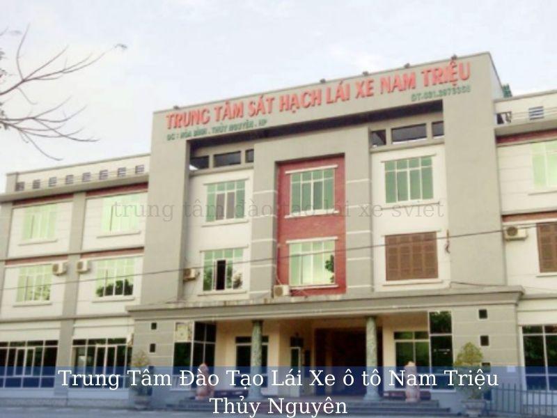 Trung Tâm Đào Tạo Lái Xe ô tô Nam Triệu Thủy Nguyên